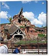 Disneyland Park Anaheim - 121218 Acrylic Print