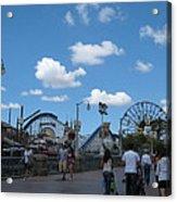 Disneyland Park Anaheim - 121235 Acrylic Print
