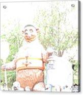 Disneyland Park Anaheim - 121245 Acrylic Print