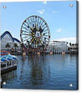 Disneyland Park Anaheim - 121252 Acrylic Print