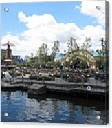 Disneyland Park Anaheim - 121255 Acrylic Print