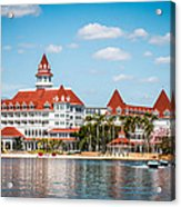 Disney's Grand Floridian Resort And Spa Acrylic Print