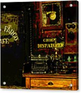 Dispatcher's Office Acrylic Print