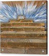 Display Hall At Temple Of Apollo Hylates Acrylic Print
