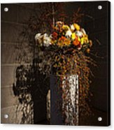 Displaying Mother Nature's Autumn Abundance Of Flowers And Colors Acrylic Print