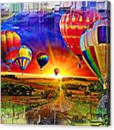 Distance Acrylic Print