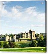 Distant Alnwick Castle Acrylic Print