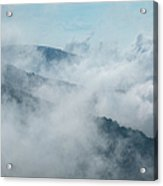Distant Canyons - Blue Ridge Parkway Acrylic Print