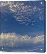 Distant Clouds Acrylic Print