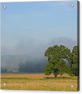 Distant Fog Acrylic Print