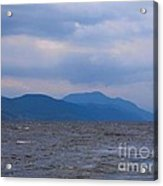 Distant Hills At Loch Ness Acrylic Print