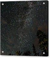 Disturbing The Milky Way Acrylic Print