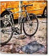 Ditchin' The Taxi To Ride Acrylic Print