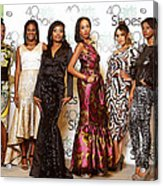 Divas Of The Runway Acrylic Print
