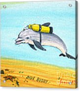 Dive Buddy Acrylic Print