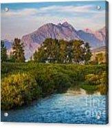 Divide Creek Morning Acrylic Print