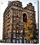 Divine Lorraine Hotel In Philadelphia Acrylic Print