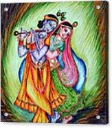 Divine Lovers Acrylic Print