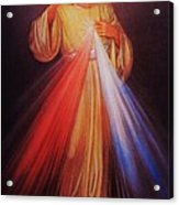 Divine Mercy Big File Acrylic Print
