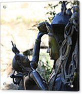 Divine Mother And Child Acrylic Print