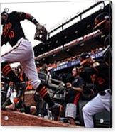 Division Series - Detroit Tigers V Acrylic Print