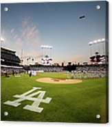 Division Series - New York Mets V Los Acrylic Print
