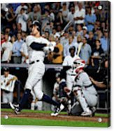 Divisional Round - Cleveland Indians v New York Yankees - Game Four Acrylic Print