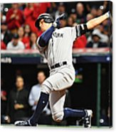 Divisional Round - New York Yankees v Cleveland Indians - Game Five Acrylic Print