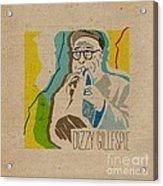 Dizzy Gillespie Acrylic Print