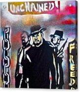 Django Freedom Acrylic Print by Tony B Conscious