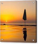 Djibouti Sunset Acrylic Print