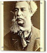 Dmitri I Vasilevich Grigorovich, Head-and-shoulders Portrait Acrylic Print