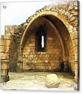 Do-00427 Citadel Of Sidon Acrylic Print