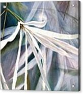 Do Flowers Dance? Acrylic Print by Melodye Whitaker