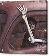 Do Not Drink And Drive Acrylic Print