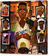 Do The Right Thing Acrylic Print by Nelson Dedos Garcia