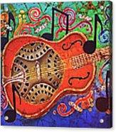 Dobro-slide Guitar-2 Acrylic Print