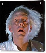 Doc Brown Acrylic Print
