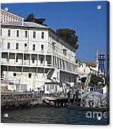 Dock At Alcatraz Island Acrylic Print