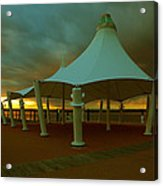 Dock At National Harbor Acrylic Print