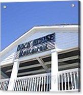 Dock House Restaurant Acrylic Print