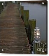 Dock Light Acrylic Print