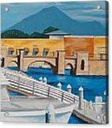 Dock On Mandalay Bay Acrylic Print