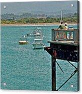 Dock Overlooking Quepos Bay-costa Rica Acrylic Print