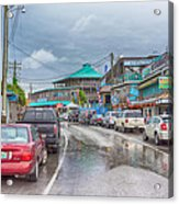 Dock Street - Cedar Key Acrylic Print