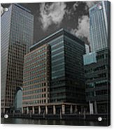 Docklands London Acrylic Print