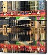 Docklands Railway London Acrylic Print