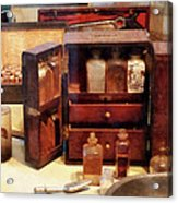 Doctor - Case With Medicine Bottles Acrylic Print