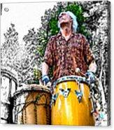 Doctor Drum Acrylic Print