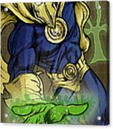 Doctor Fate Acrylic Print